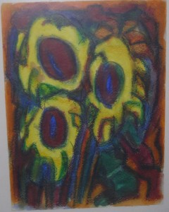 Bornscheuer Gemaelde_Sonnenblumen