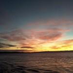 Der Bodensee, Farbenspiel über Wasser