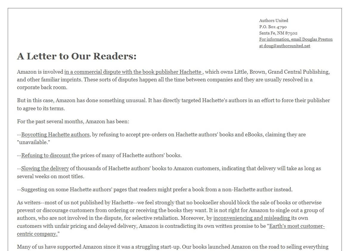 Amazon Das Ende Der Buchkultur Offene Briefe Autoren Contra