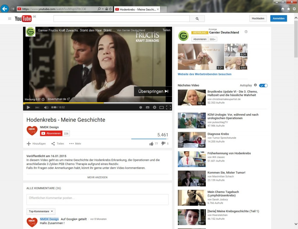 Garnier_Werbung_beiHodenkrebs_Video