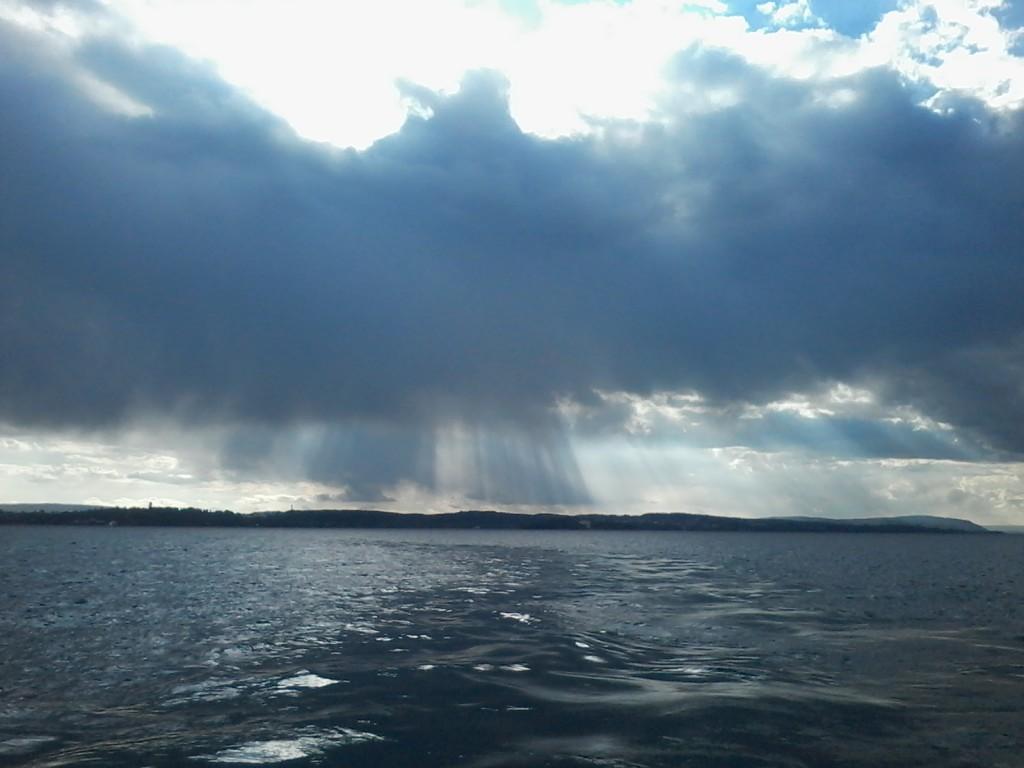 Der Adler in den Wolken, Sturm über dem Bodensee